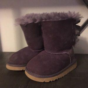 Purple Bailey UGG Boot